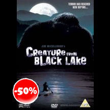 Creature From Black Lake DVD