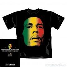 Bob Marley Ra Sta Face T-Shirt Los