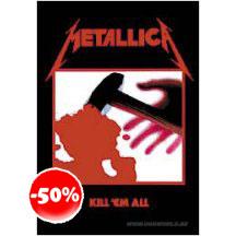 Metallica Kill Em All Textile Poster