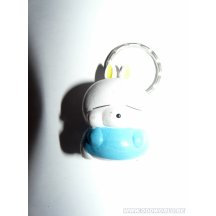Mashimaro Keychain Blue