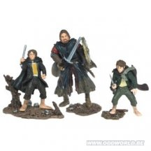 Lord Of The Rings Attack At Amon - Hen Boromir Pippin Merry Figuren Set