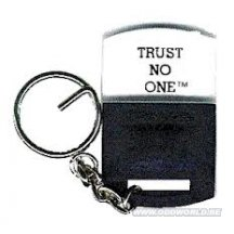 X-files Trust No One Keychain