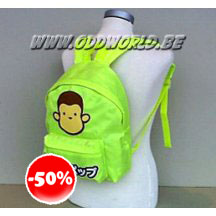 Tum Tum Yum Pop Monkey Fluo Bagpack