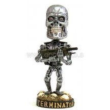 Terminator 2 Endoskeleton Head Knocker Statue