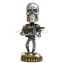 Terminator 2 Endoskeleton Bobbing Head Beeld