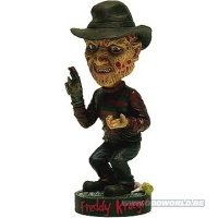 Nightmare On Elm Street Freddy Krueger Head Knocker Statue