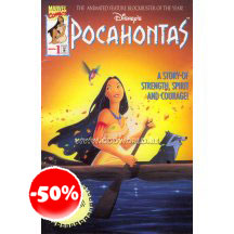 Pocahontas Disney Tp Comic Book Marvel Comics