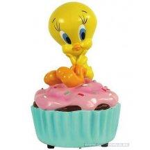 Looney Tunes Tweety Cupcake Musical Statue Statue